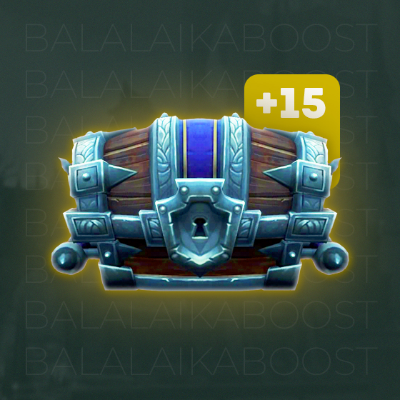 Mythic+ Plus 15 Boost Weekly Chest